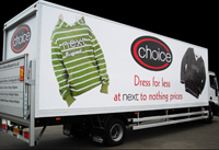 Large vehicle graphics